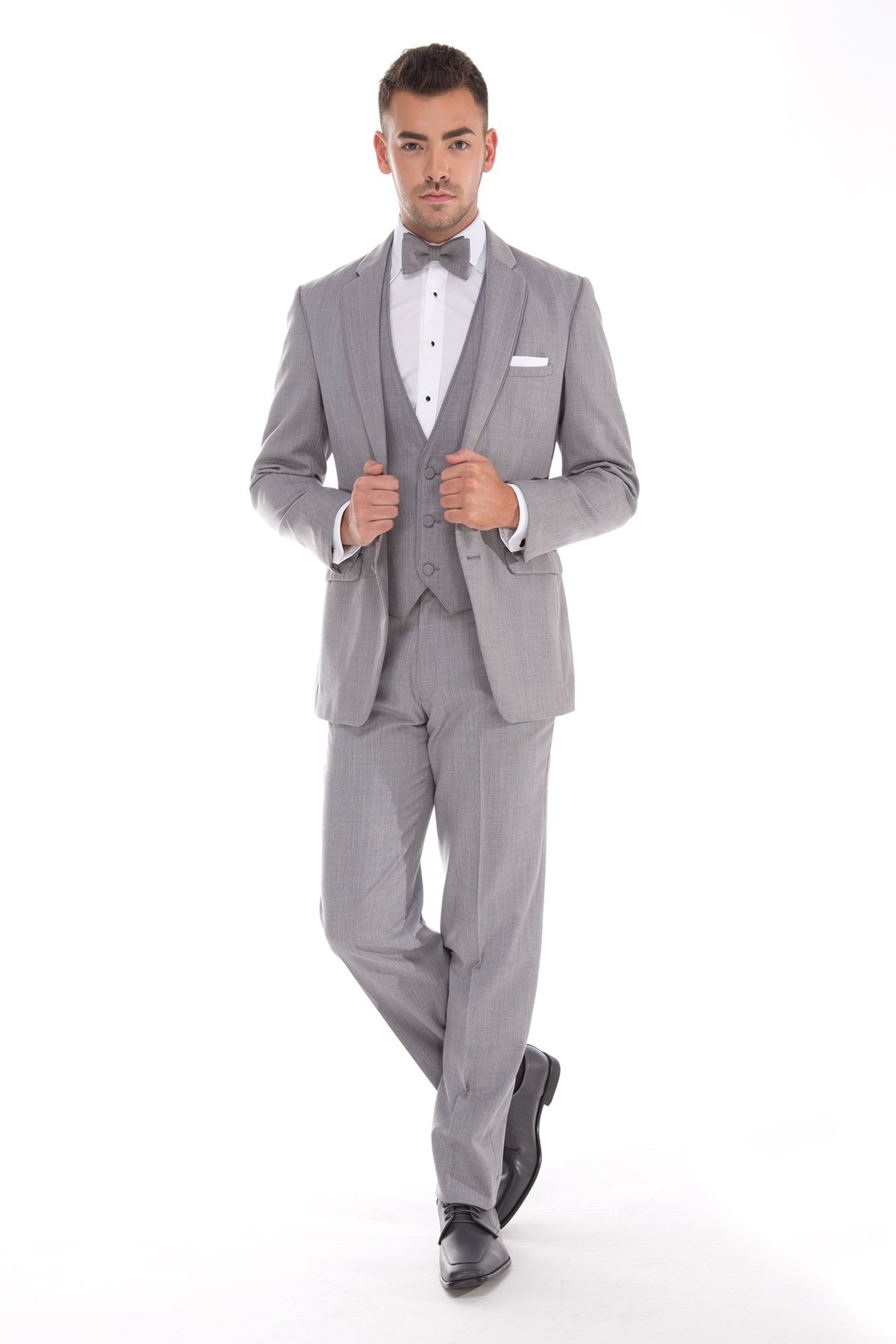 MFWtux.com - Grey Heather Allure Men Wedding Suit
