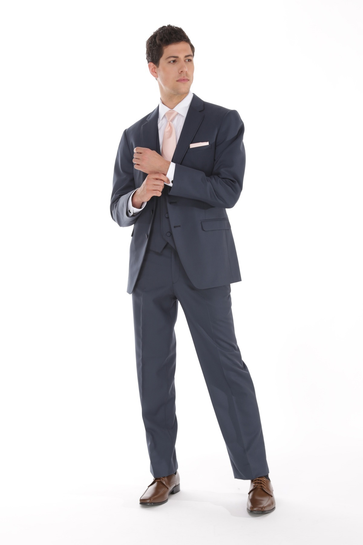 MFWtux.com - Slate Blue Allure Men Wedding Suit