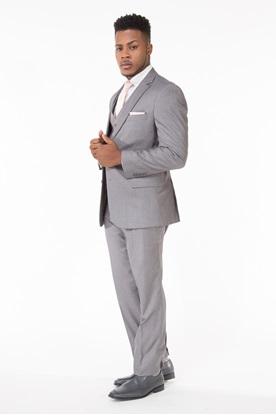 0Suits, Wedding, Wedding Suit, Grey Suit, Light Grey Suit