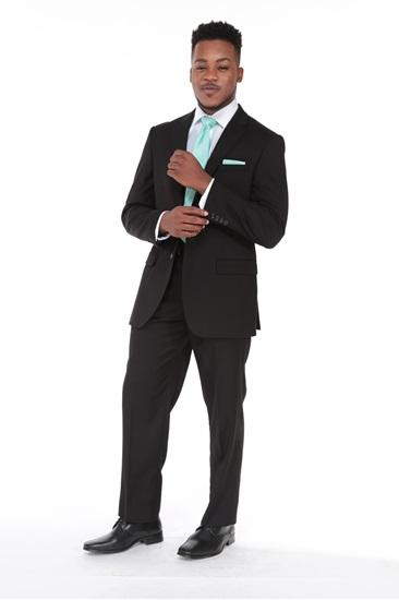 Suit, Weddings, Wedding Suit, Black, 3-Piece Sui