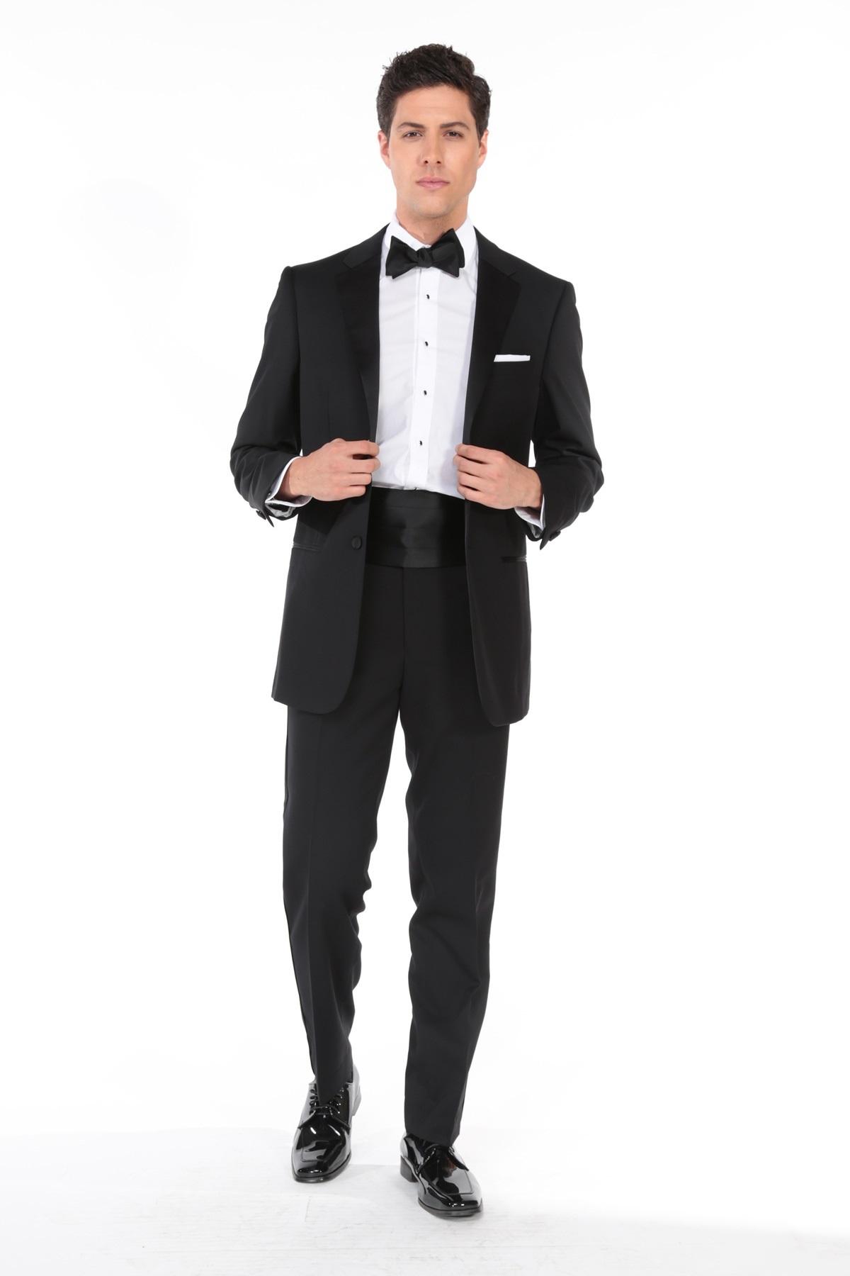 MFWtux.com - Black Tuxedo