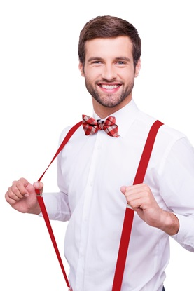 Picture of Red Suspenders