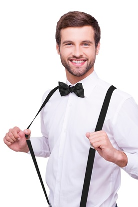 Picture of Black Suspenders