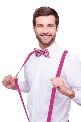 Picture of Fuchsia Suspenders