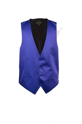 Picture of Blue Violet Modern Solid