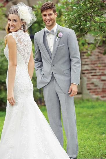 MFWtux.  Grey Heather Allure Men Wedding Suit