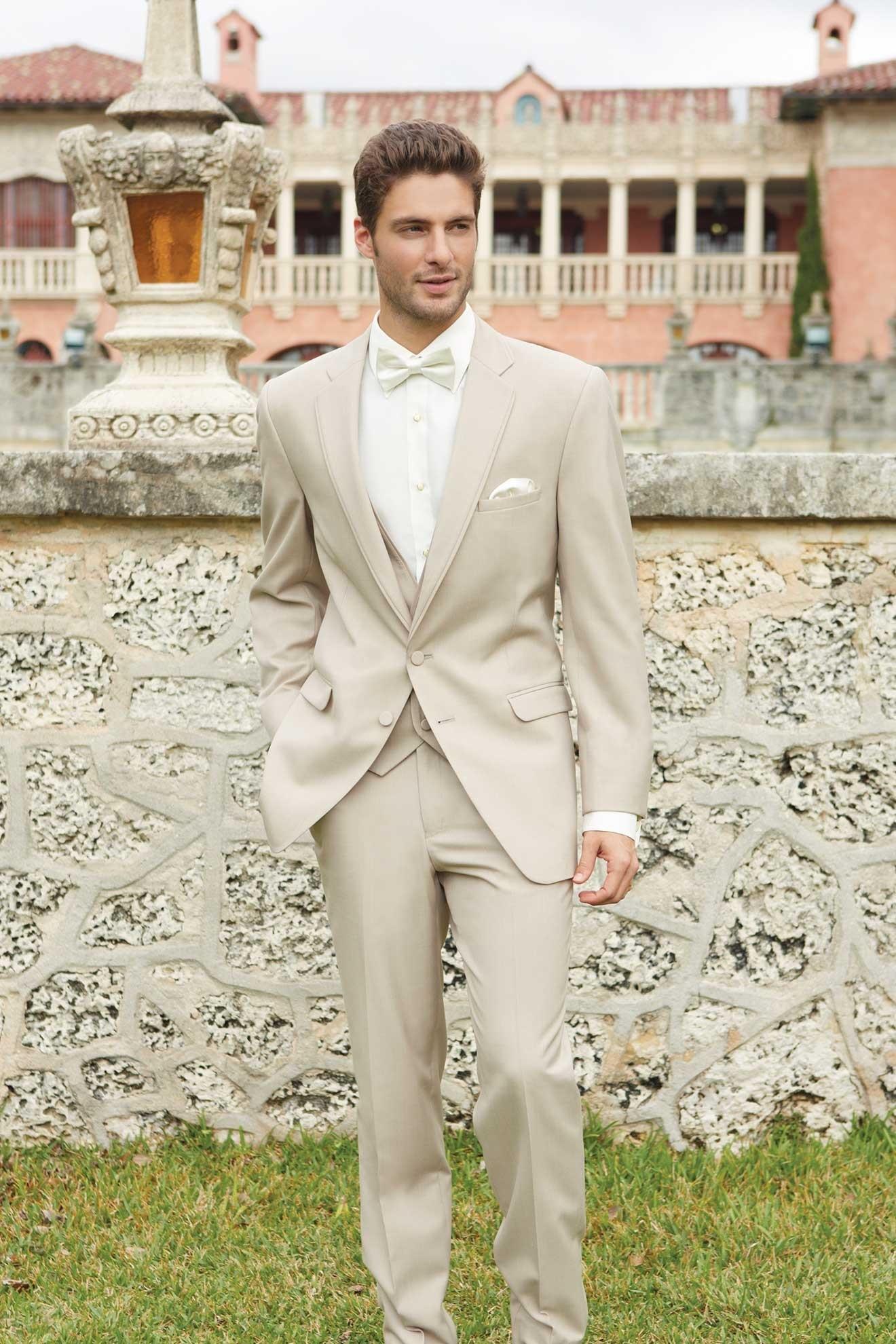 MFWtux.com - Tan Allure Men Wedding Suit