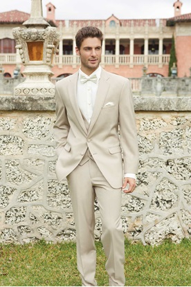 Tan Wedding Suit Allure