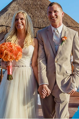 Tan Wedding Suit