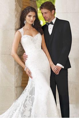 Black Wedding Suit David Tutera