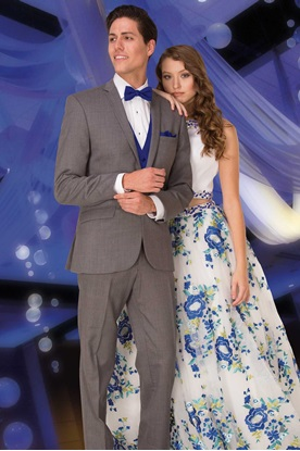 Smoke Grey Prom