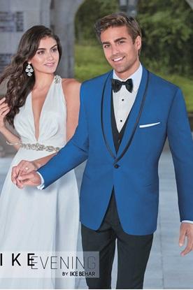 Royal Blue Prom Tuxedo