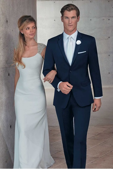 Navy Wedding Suit