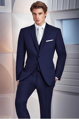 Navy Prom Suit