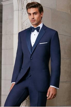 Navy Ike Behar Sebastian Tuxedo