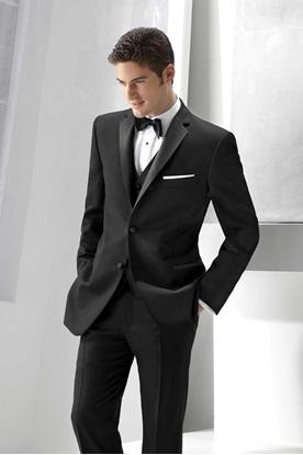 Black Ike Behar Parker Tuxedo
