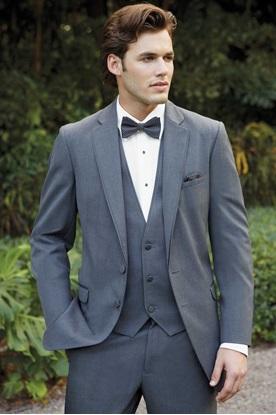 Steel Grey Tuxedo