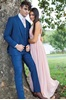 Picture of French Blue Wedding Suit Rental